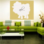 Sheep - Whiteboard Wall Stickers