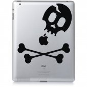Skull - Decal Sticker for Ipad 3