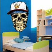 Skull Wall Stickers