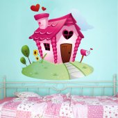 Small House Wall Stickers