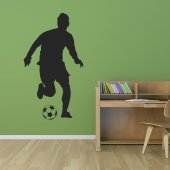 Soccer Player Wall Stickers