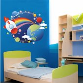 Space Wall Stickers