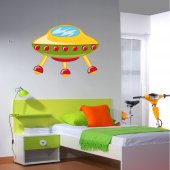 Spaceship Wall Stickers