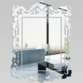 Specchio acrilico plexiglass barocco