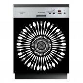 Spülmaschine Aufkleber Besteck