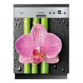 Spülmaschine Aufkleber Blume