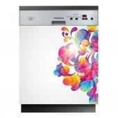 Spülmaschine Aufkleber Design