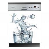 Spülmaschine Aufkleber Eis