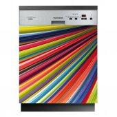 Spülmaschine Aufkleber Farben