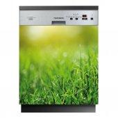 Spülmaschine Aufkleber Gras
