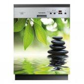 Spülmaschine Aufkleber Kieselsteine