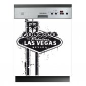 Spülmaschine Aufkleber Las Vegas