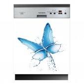 Spülmaschine Aufkleber Schmetterling