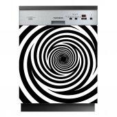 Spülmaschine Aufkleber Strudel
