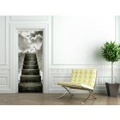 Staircase Door Stickers