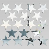 Stars - Decorative Mirrors Acrylic