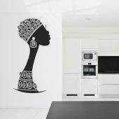 Sticker African