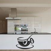 Sticker Ceasca de Cafea