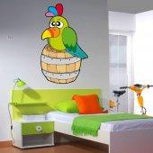 Sticker Copii Butoi Pasare