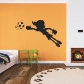 Sticker Copil Fotbal