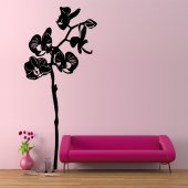 Sticker Floare Asiatica