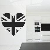 Sticker Inima Englezeasca
