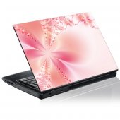 Sticker laptop exterior Floare Grafica