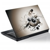 Sticker laptop exterior Grafica