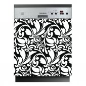Sticker Masina de Spalat Vase Design