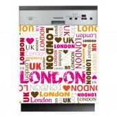 Sticker Masina de Spalat Vase London