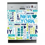 Sticker Masina de Spalat Vase New York