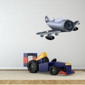 Sticker Pentru Copii Avion