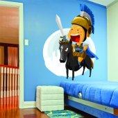 Sticker Pentru Copii Cavaler