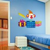 Sticker Pentru Copii Clovn Cutia Pandorei