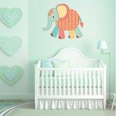 Sticker Pentru Copii Elefantut