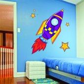Sticker Pentru Copii Racheta