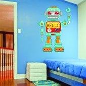 Sticker Pentru Copii Robot Hello