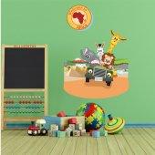 Sticker Pentru Copii Safari