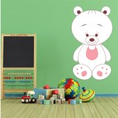 Sticker Pentru Copii Ursulet Baveta