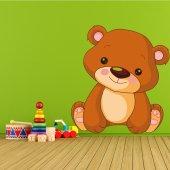 Sticker Pentru Copii Ursulet Vesel