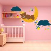 Sticker Pentru Copii Ursulet Visator