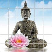 Sticker pentru faianta Buddha