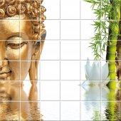 Sticker pentru faianta Buddha Bambus