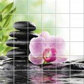 Sticker pentru faianta Floare Bolovan