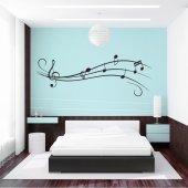Sticker Portativ Muzical
