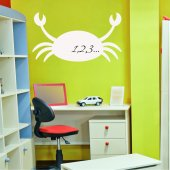 Sticker tabla velleda Crab