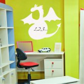 Sticker tabla velleda Dragon