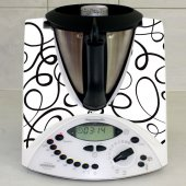 Sticker Thermomix TM 31 Banda Neagra