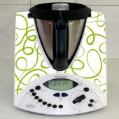 Sticker Thermomix TM 31 Banda Verde