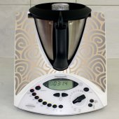 Sticker Thermomix TM 31 Design Spirale